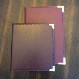 2 pc Notebook Portfolio and Address Book